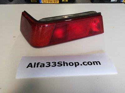 Achterlicht links Alfa 33 type 3 rood
