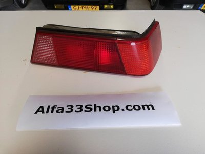 Achterlicht rechts Alfa 33 type 3 rood